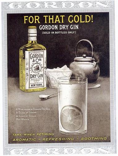 Gordon Gin ad, 1916
