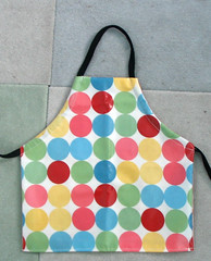 reversible mini apron - craft side