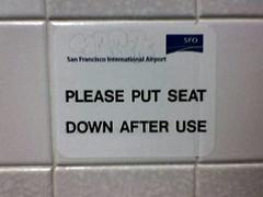 Seat Down
