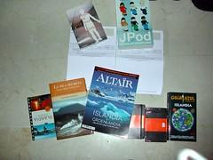 Libros diversos recibidos