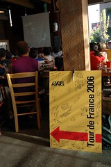 Chris King Lucky Lab Tour de France party