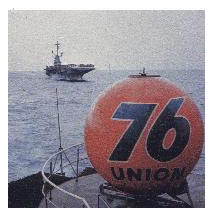 76 ball on the USS Mispillion c. 1968