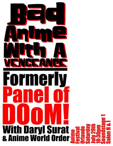 Anime Festival Orlando Flyer