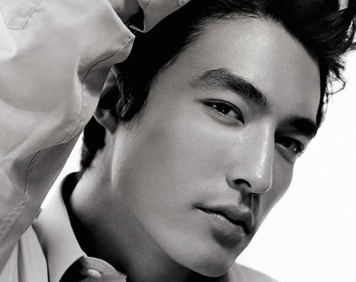It's Daniel Henney and I know he's been making the rounds of all the Korean ...
