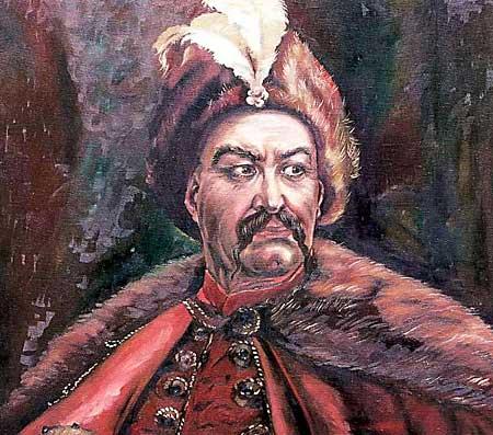Ukranian hetman Bohdan Khmelnytsky
