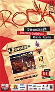agosto de rock cartaz