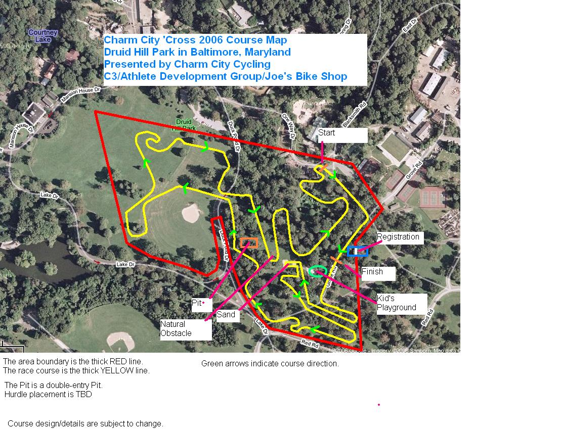 CC Cross 2006 basic course updated