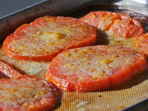 Cooked Cheesy Tomato