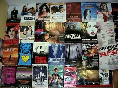 10º ElCine: Pared de afiches