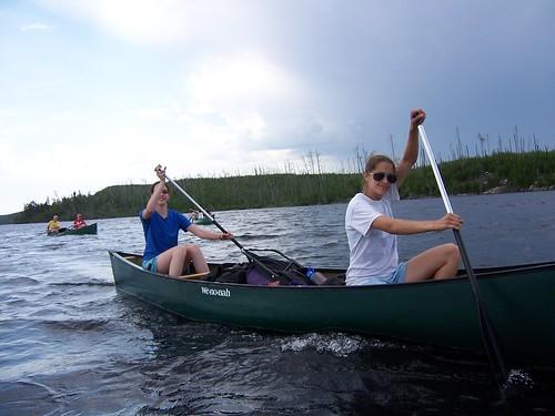023 - Day 2 - Andrea & Ali Canoe
