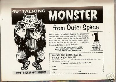 Talking Monster from Outer Space