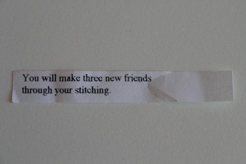 fortune cookie?