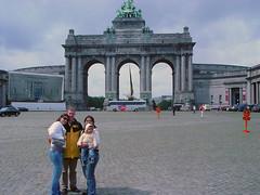 Liz, Koen and Perla in Brussels Park