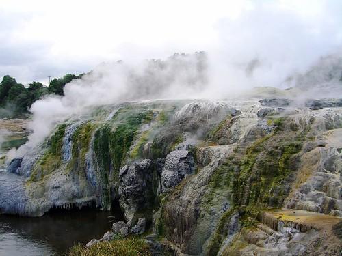 Te Whakarewarewa地熱谷景觀-3