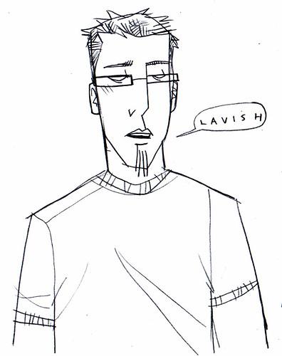 sketch of me