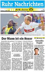 BVB-Extra der Ruhr Nachrichten vom 27.08.2006