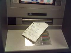 Esta máquina no da dinero