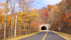 One of 26 tunnels on the Blue Ridge Parkway