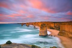 Sunset at Twelve Apostles photo by -yury-