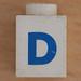 Lego Letter D