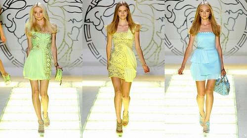 2012 Versace 春夏米蘭時裝週5