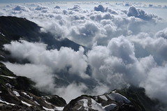 Mt.Shirouma with sea of clouds !! #2 -雲海@白馬岳- photo by mukarin