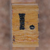 rubber stamp handle letter I