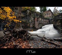 Wells Falls In The Fall photo by Mike Orso