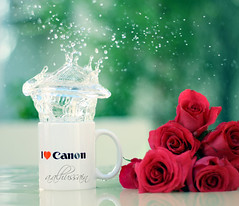 I ♥ Canon .. Splash [1\?] photo by Corna. QTR ♥ أستغفر الله