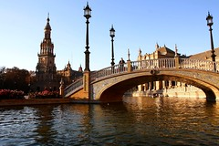 La plaza de España ( Seville - Spain ) photo by Cesar Redondo