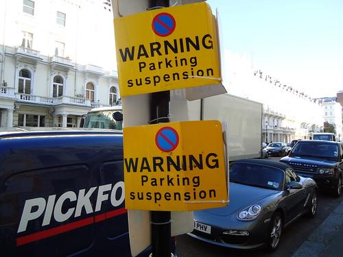 Parking Suspension 1