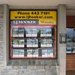 L J Hooker Real Estate window