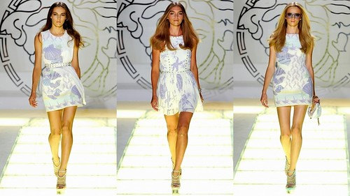 2012 Versace 春夏米蘭時裝週3