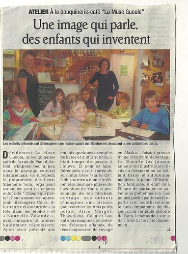 Parution Le Dauphiné V.7/10/11