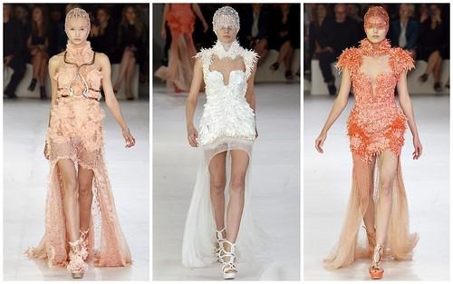 2012 Alexander McQueen 春夏巴黎時裝週6