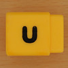 Pushfit cube letter u