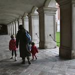 Walking around court<br/>19 Nov 2011