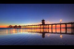pier in the rainbow photo by Eric 5D Mark III