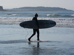 Surfer photo by Joe Shlabotnik