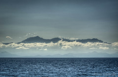Corsica from the sea photo by by Ophelia photos