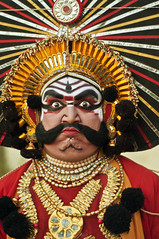 Yakshagana photo by Anoop Negi
