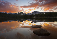 Lake Brainard Sunset - Indian Peaks Wilderness, Colorado photo by Will Shieh
