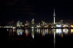 Auckland City at night {Explored} photo by Photos_by_Angela