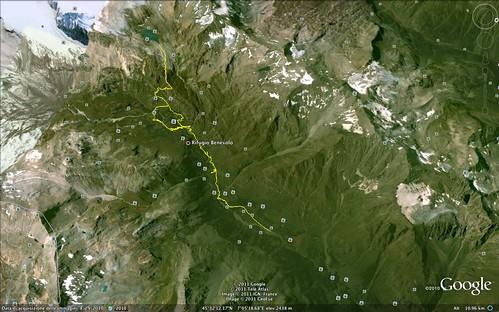 Rifugio Benevolo e Lago di Goletta