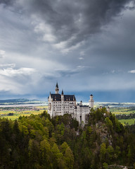 Neuschwanstein Castle photo by PeterJot