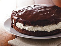 Giant Ganache-Topped Whoopie Pie Recipe photo by Betty Crocker Recipes