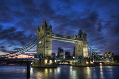 Tower Bridge Blue Hour photo by TheFella