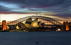 Opera House & Harbour Bridge photo by Az. Abdulrahman Alzahim