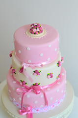 Shabby chic cake photo by bubolinkata
