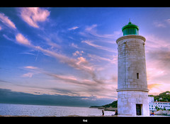 Phare du port de Cassis / Cassis's lighthouse photo by ►▲▲ / Cyril
